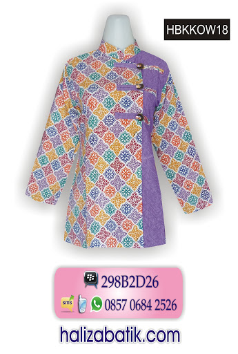baju batik wanita, motif batik, grosir baju batik