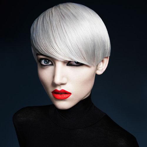 shades of white blonde haircut 2016