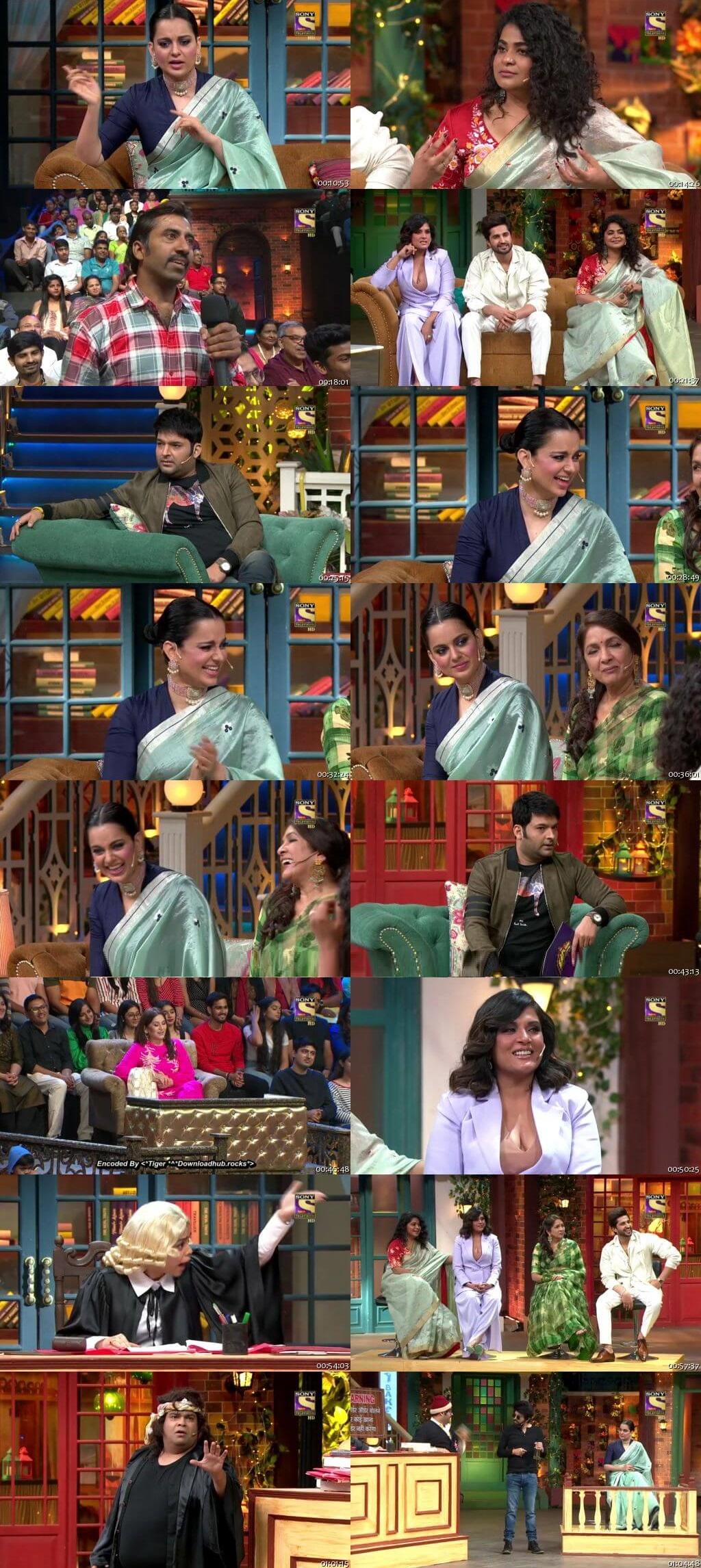Screen Shot Of The Kapil Sharma Show 18th January 2020 Season 02 Episode 108 300MB Watch Online