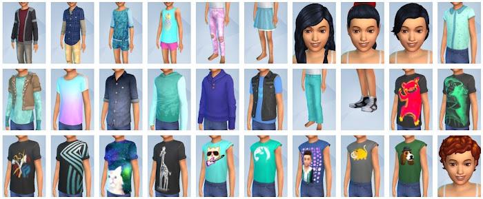 De Sims 4 Kinderkamer Accessoires CAS-items