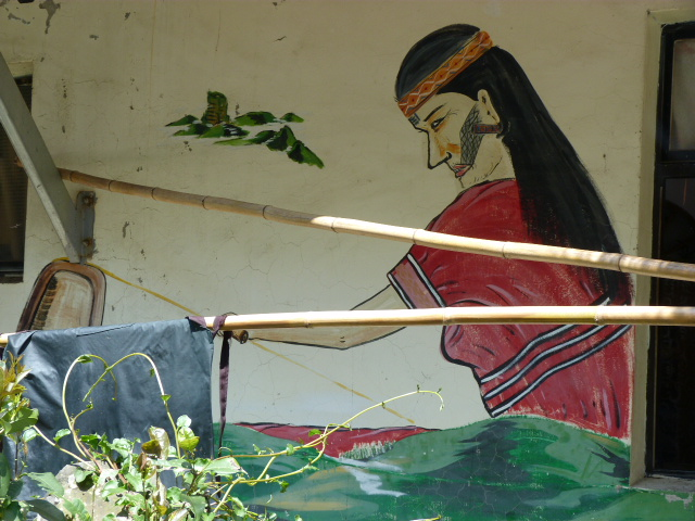TAIWAN. Dans une region ou habitent les aborigenes de l ethnie Atayal - P1110825.JPG