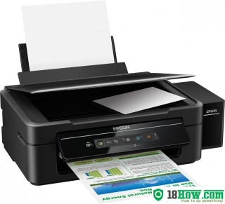 How to Reset Epson L132 flashing lights problem