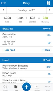losing weight with my fitness pal and fit bit liverpoollashes