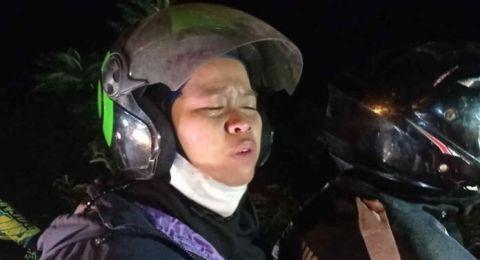 Hari Lebaran, Pemudik Pingsan Terjaring Penyekatan di Lingkar Gentong