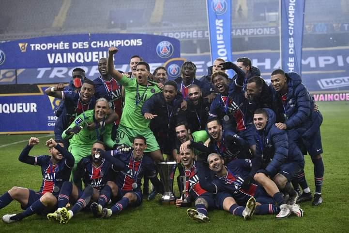 باريس بطل السوبر الفرنسي للمرة العاشرة علي حساب مارسيليا