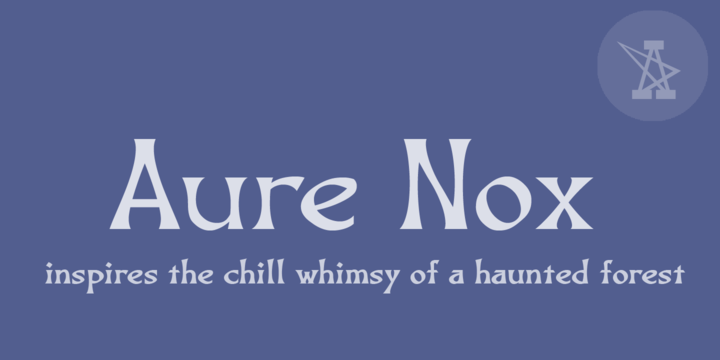 Basic Fonts: Download Aure Nox Font Family From Aure Font Design