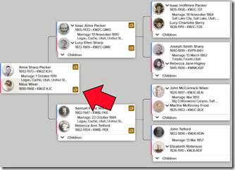 纪录网页视图上的提示图标