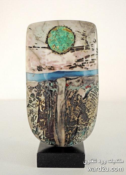 منحوتات خزفيه للفنان Peter Hayes