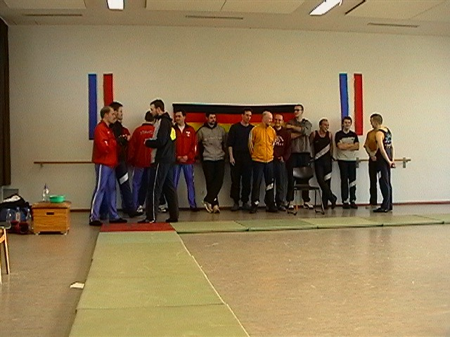 Freundschaftswett- kampf gegen das französiche Nationalteam 2003 - IMGA0142.JPG