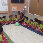 Popcorn Making Activity of Nursery Morning Section at Witty World, Chikoowadi (2018-19)