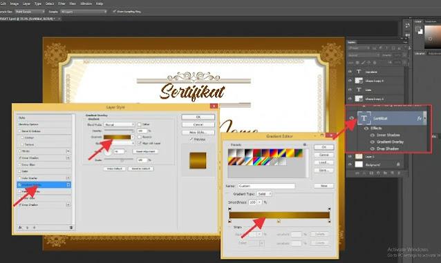 Download Sertifikat PSD Adobe Photoshop