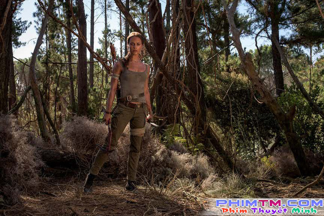 Tomb Raider - Lộ tạo hình của Alicia Vikander trong vai Lara Croft - Ảnh 2.