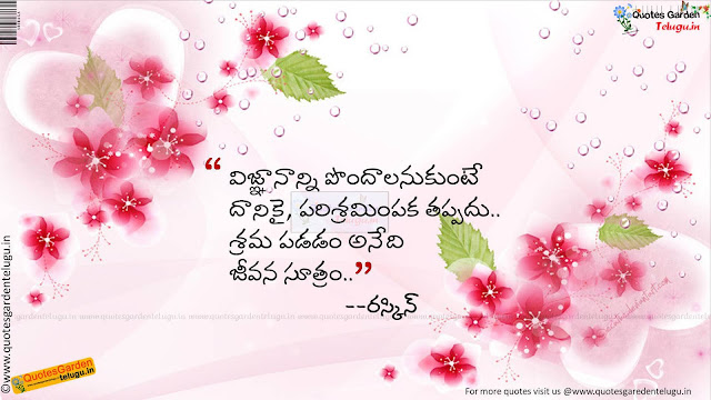 inspirational good morning thoughts in Telugu