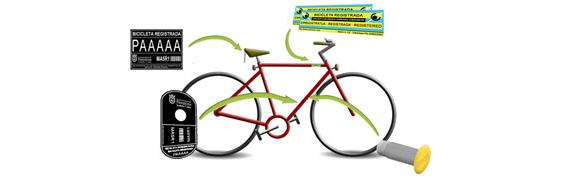 Pamplona comienza a implantar el registro y marcaje de bicicletas