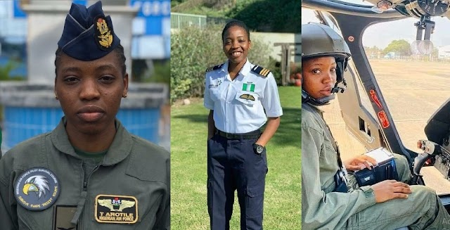 Nigerians Remember The First-Ever Female Combat Pilot Who Died Exactly A Year Ago