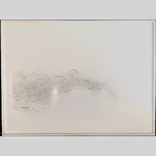Allan Graham Signed Large Scale Drawing