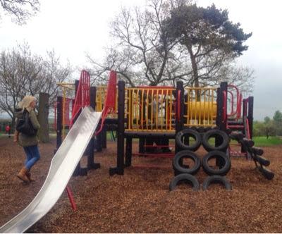 Preston park climbing frame
