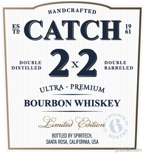 Catch 2x2 Bourbon Whiskey