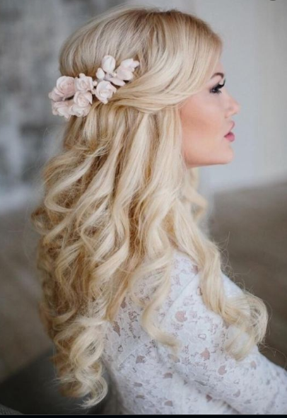 Latest Wedding Hairstyles For Long Hair 7