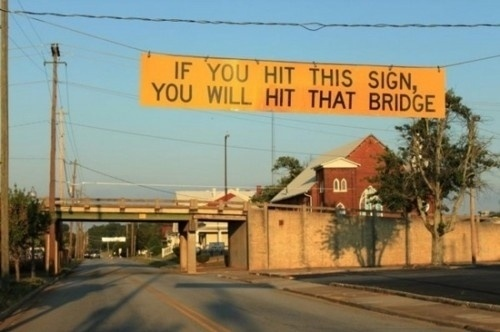 If You Hit This Sign