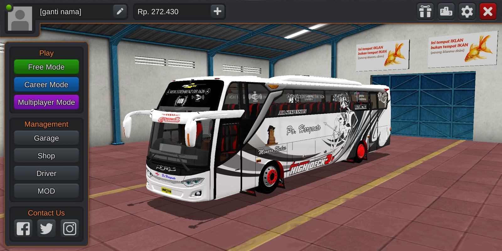 DOWNLOAD MOD BUSSID JB3+SHD FULL  STROBO