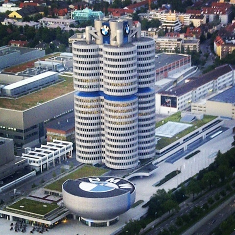 European Explorer Bmw Headquarters Munich