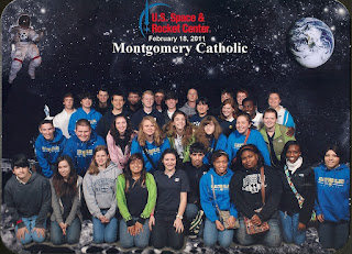 Montgomery Catholic's High School Students Compete in North AL Science Olympiad at UAH 1