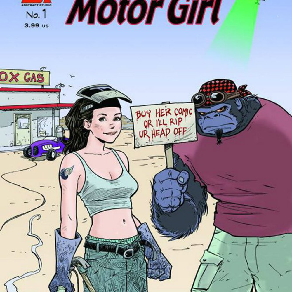 Motor girl 1 square