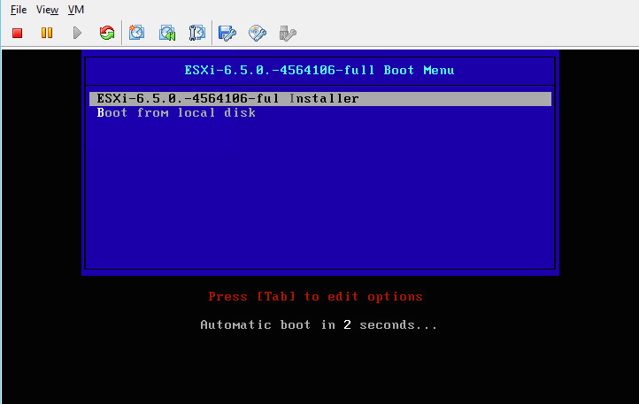 Vmware Pxe Boot No Dhcp