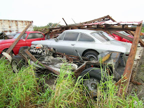 Abandoned Ferrari Lusso
