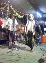 رقص لحجي