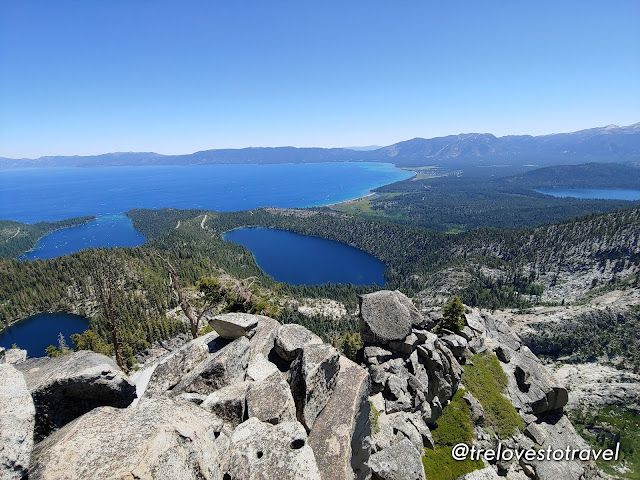 Granite Lake and Maggie's Peaks of South Lake Tahoe