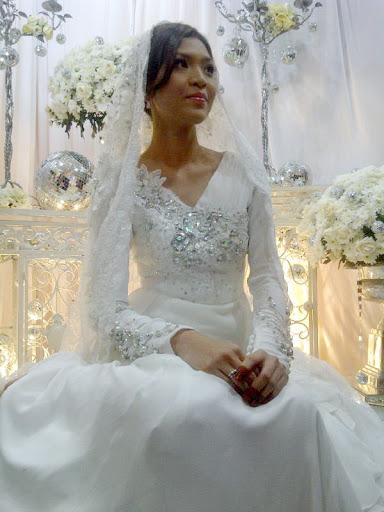 gambar pernikahan sheira aiyob dan zahiril adzim