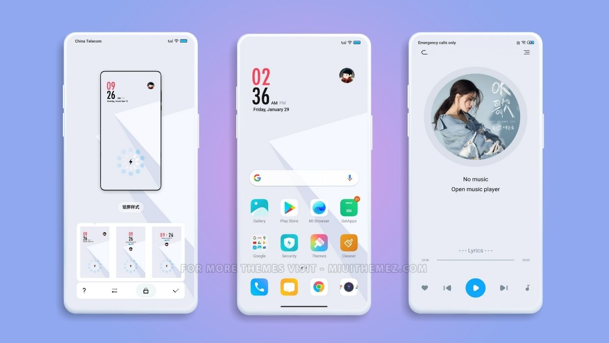 Future Light v12 MIUI Theme