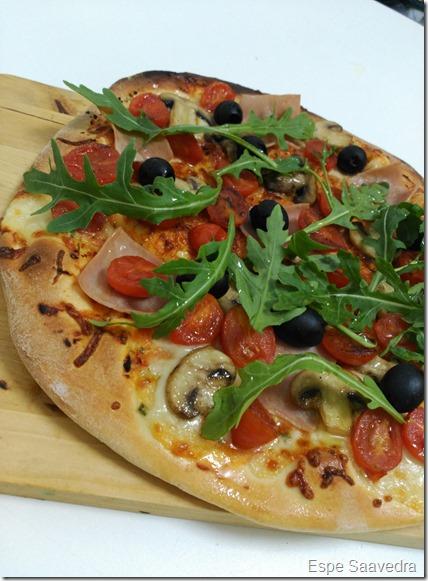 pizza levadura seca espe saavedra