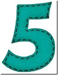 5 letras verdes