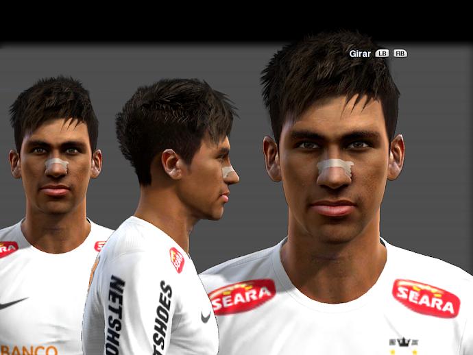 Neymar Faces - PES 2013
