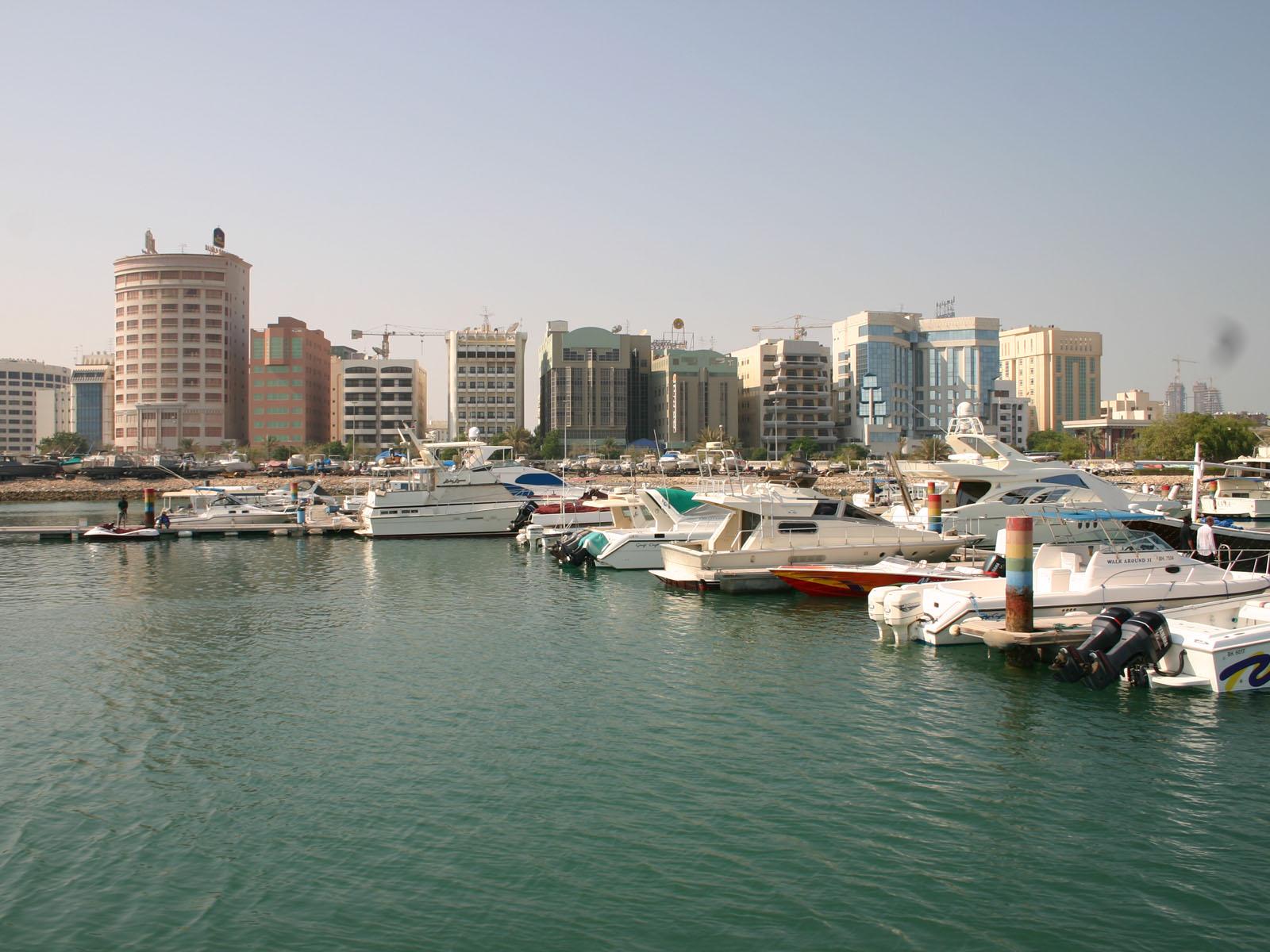 Bahrain - boat harbor