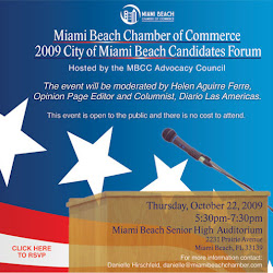 2009 City of Miami Beach Political Forum