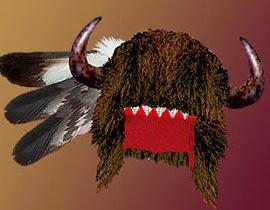Бизонья шапка индейцев кроу