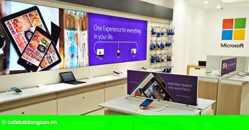 """Hình 1: Cửa hàng Nokia tại Việt Nam sắp đổi thành """"đại lý ủy quyền của Microsoft"""""""