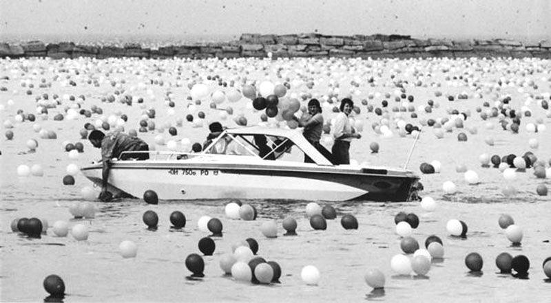 O desastroso festival de balão