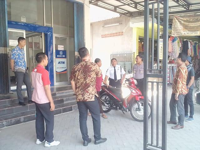 Polsek Dawarblandong Gencar lakukan pengamanan Perbankan