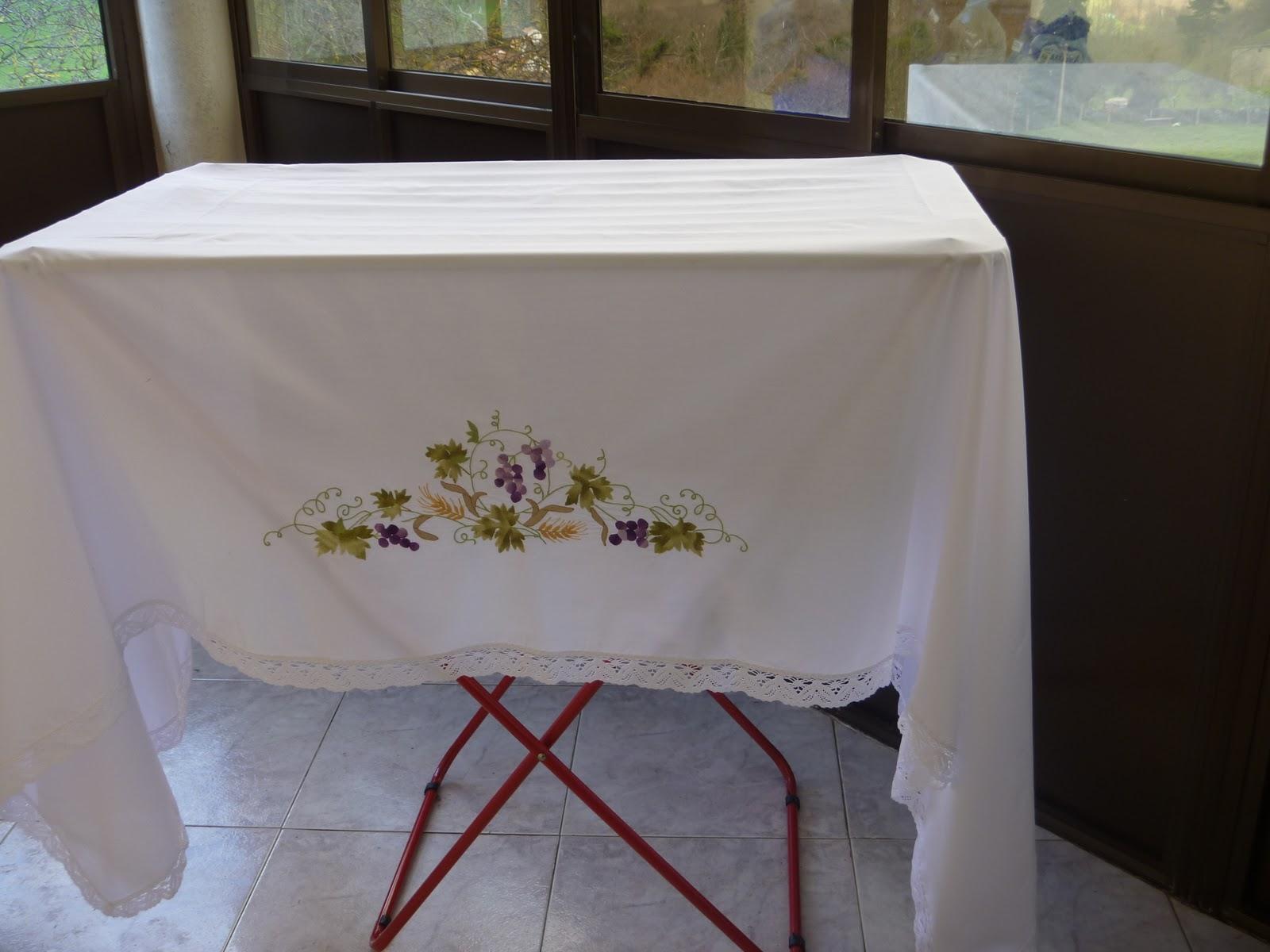 Balbipatchworkblogspotcom Mantel Para Altar - Manteles-para-bordar