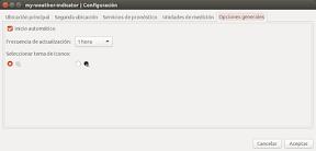 My Weather Indicator para Ubuntu - Configuracion 4