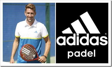 Alex Ruiz y Adidas Pádel unen sus caminos para las próximas cuatro temporadas.