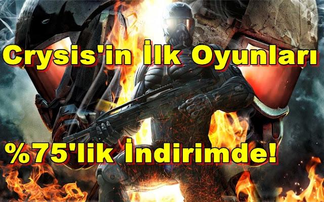 Steam'den Crysis 3 Öncesi Süper İndirimler!