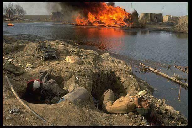 صحيفة العراق تنشر فيديو بكاء قاسم سليماني بمعركة الحصاد الاكبر مع العراق