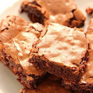 Homemade Fudge Brownies.