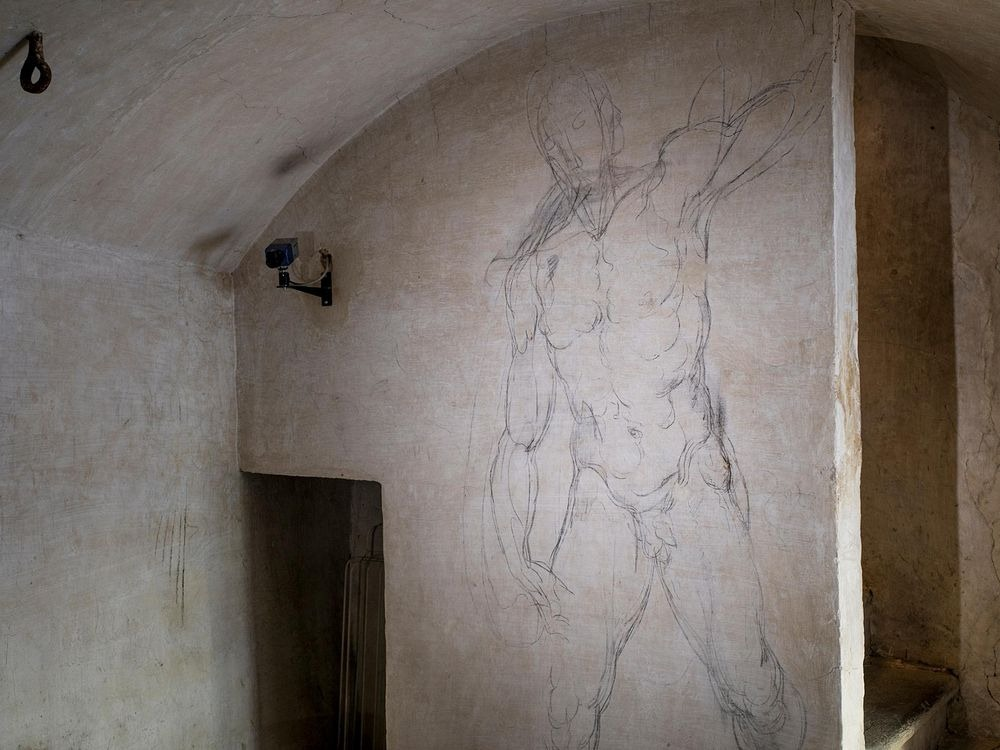 michelangelo-drawings-medici-chapel-2